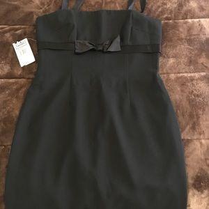 Black dressy dress.